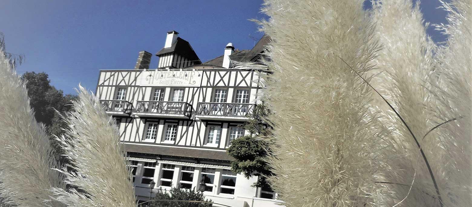 Hostellerie Saint-Pierre, villégiature à la Normande